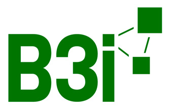 Logo of the B3i initiative