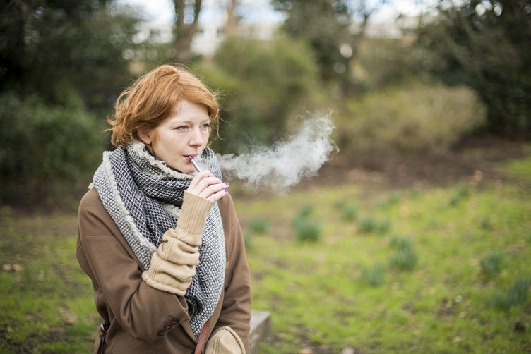 E-cigarettes and severe lung disease